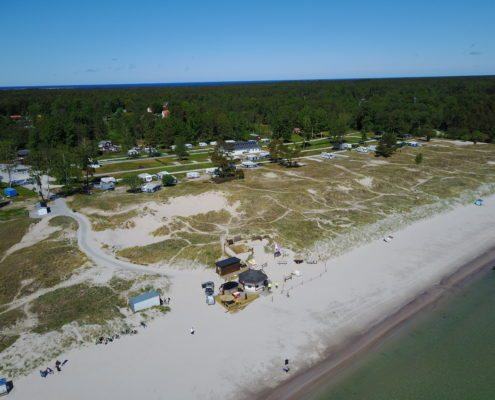 Sudersand strand strandcampingen