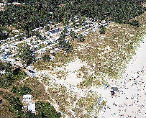 Översikt Strandcampingen