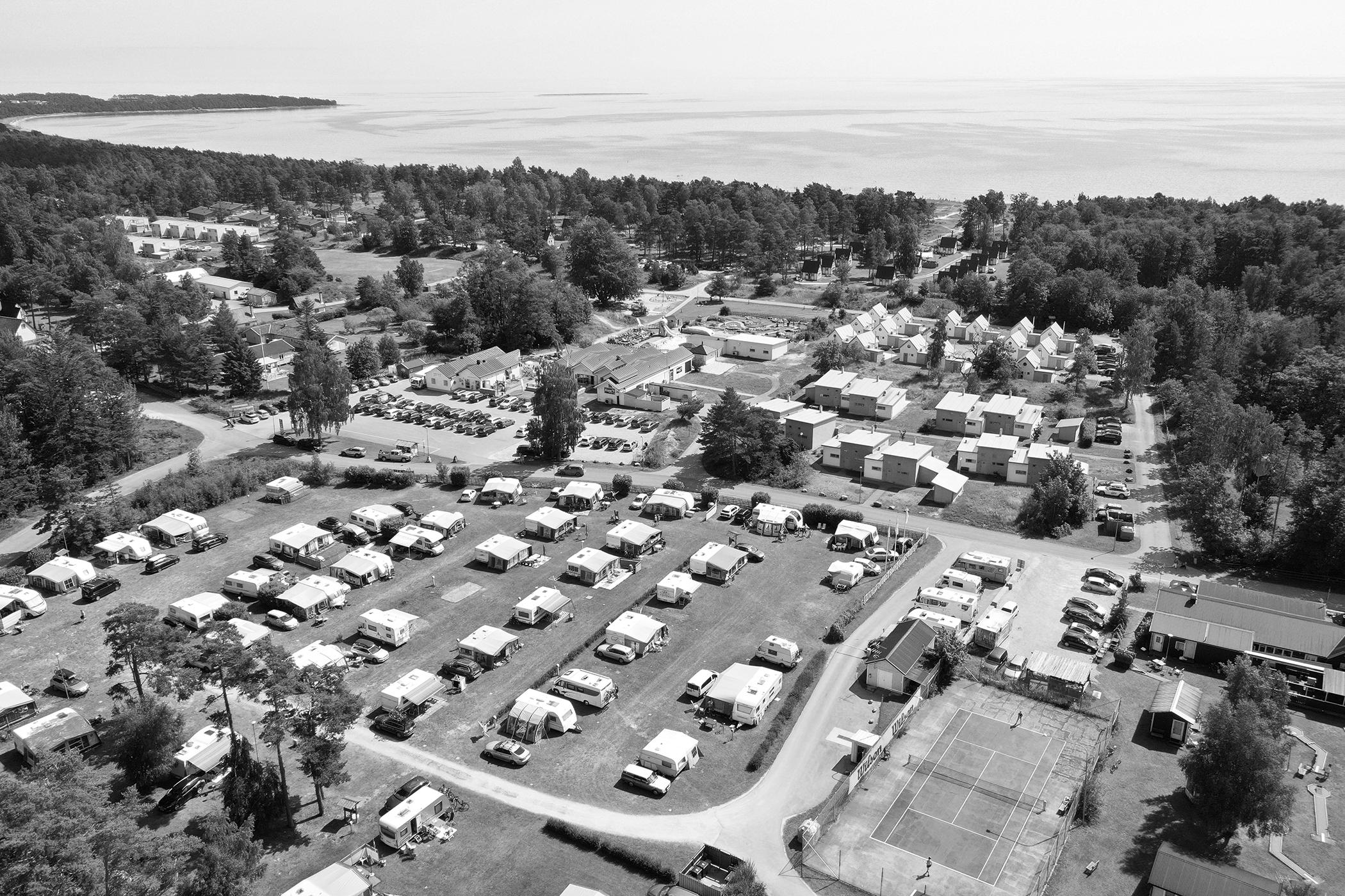 Strandskogens Camping Gotland Fårö