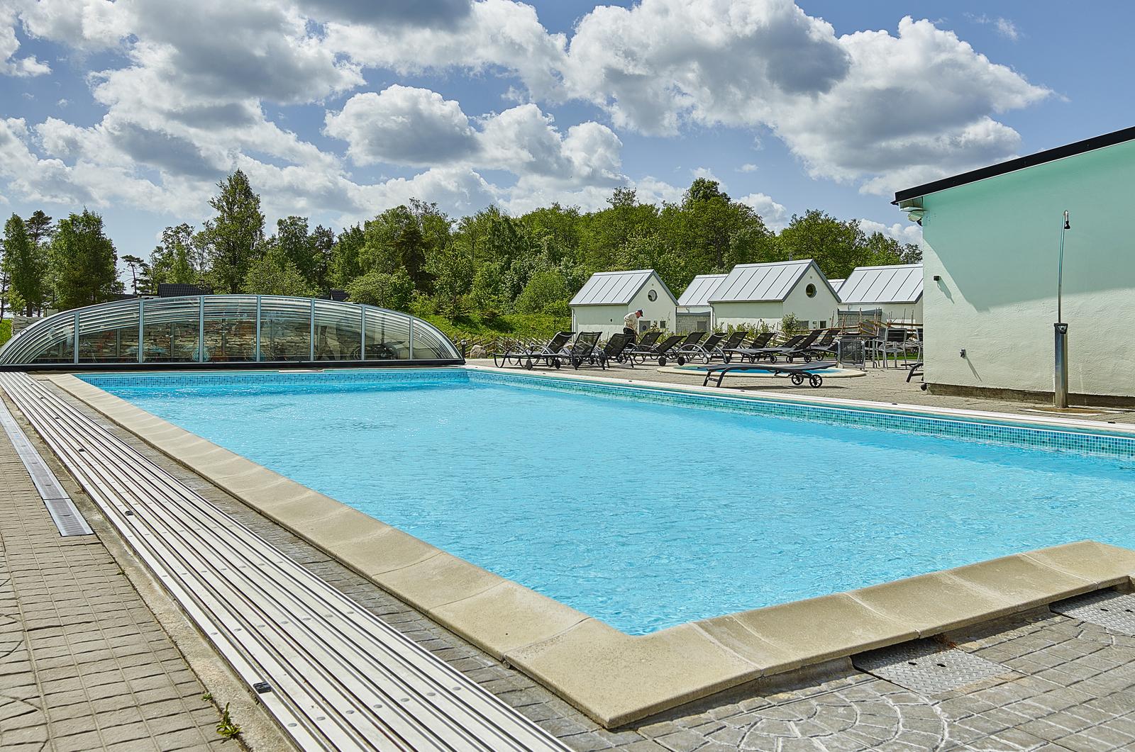 Pool Sudersand Fårö Gotland